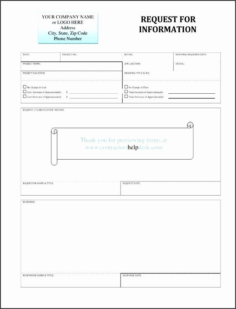 Construction Work Construction Work Request Form