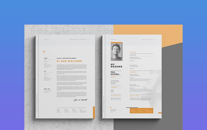 39 Professional Ms Word Resume Templates Simple Cv Design Formats 2020