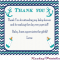 Thank You Card Template For Baby Shower