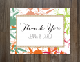 Thank You Note Cards Template