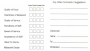 Table Reservation Card Template